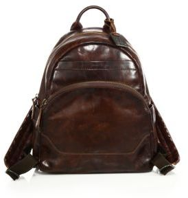 Frye Melissa Leather Backpack $388 thestylecure.com