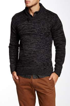 Yoki Shawl Collar Pullover Sweater