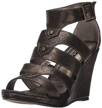 Michael Antonio Women's Kikki-Met Wedge Sandal