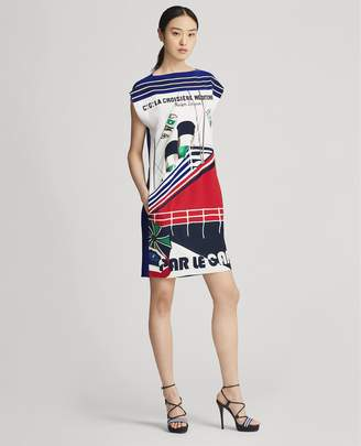 Ralph Lauren Tilly Crepe Dress