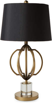 N. Crestview Collection Gold-Tone Metal Table Lamp