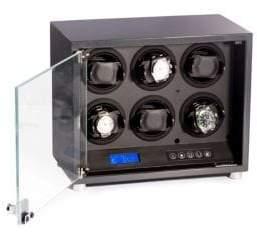 Bey-Berk Carbon Finish Watch Winder