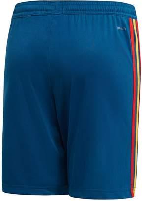 adidas Junior Spain Home Replica Shorts - Blue