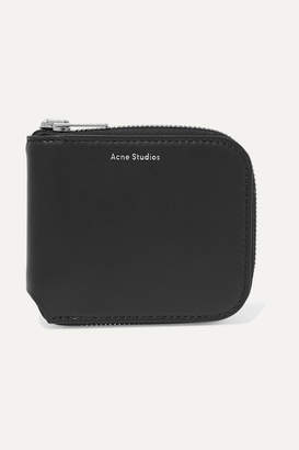 Acne Studios Kei S Leather Wallet - Black