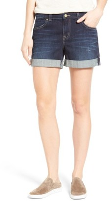 Petite Women's Caslon Denim Boyfriend Shorts $59 thestylecure.com