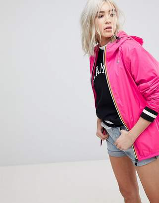 K-Way K Way Claude 3.0 Festival Waterproof Zip Through Jacket
