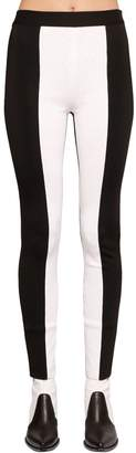 Givenchy Two Tone Wool Knit Leggings Pants