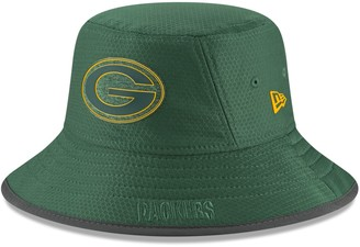 52eeaa22c75 New Era Adult Green Bay Packers Training Bucket Hat