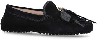 Tod's Braided Leather Driving Shoes