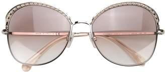 Chanel Eyewear oversized sunglasses