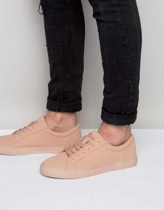 Asos DESIGN Vegan Sneakers In Pink