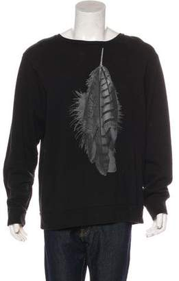 Marcelo Burlon County of Milan Knit Graphic Sweater