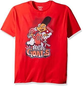 Nickelodeon Men's 90s TV Short Sleeve Graphic T-Shirt