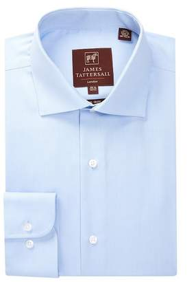 James Tattersall Pinpoint Oxford Modern Fit Dress Shirt