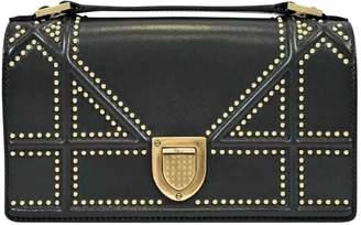 Christian Dior Diorama Green Leather Handbag