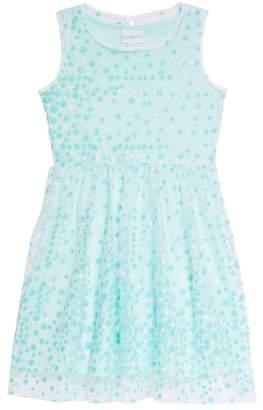 Frais Glitter Dot Sleeveless Dress (Toddler Girls, Little Girls & Big Girls)