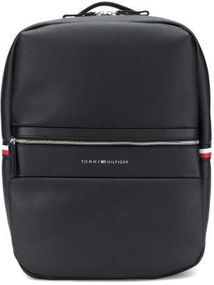 Tommy Hilfiger logo tape laptop backpack