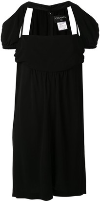 Chanel Pre-Owned cold shoulders empire dress