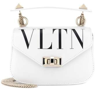 Valentino VLTN leather shoulder bag