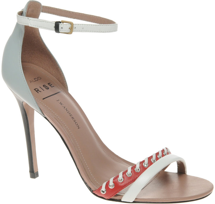 J.W. Anderson ALDO Rise Exclusive Eakins Stiletto Heeled Sandals