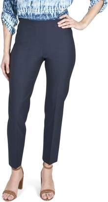 Haggar Bengaline Slim-Fit Ankle-Length Pants
