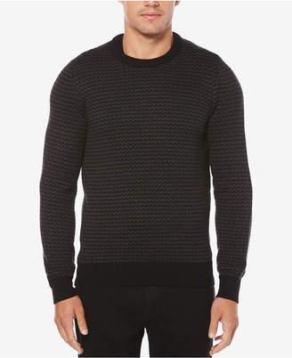 Perry Ellis Men's Herringbone Sweater