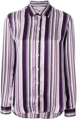 Massimo Alba striped long sleeved shirt