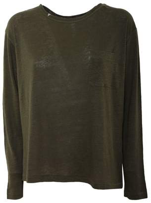Sun 68 Linen T-shirt