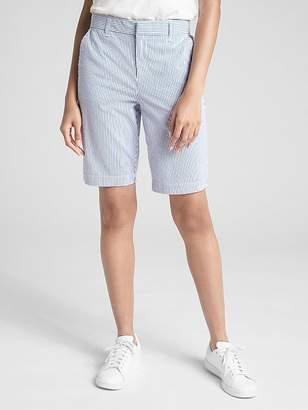 "Gap 10"" Bermuda Shorts in Stretch Seersucker"