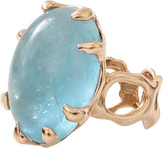 Lucifer Vir Honestus Aquamarine Chicco Ring