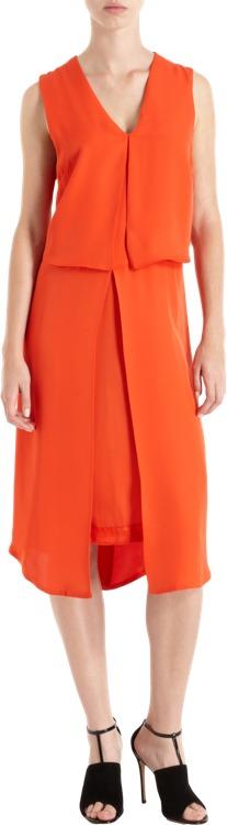 Wayne Layered Sleeveless Dress Sale up to 60% off at Barneyswarehouse.com