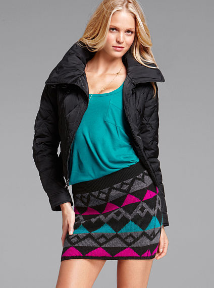 Victoria's Secret Moto Puffer Jacket