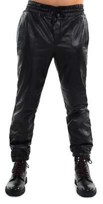 Sean John Leather Track Pants