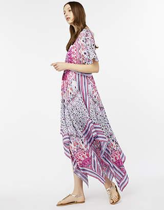 Monsoon Ayria Hanky Hem Dress