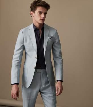 Reiss Cosmopolitan B Slim Fit Linen Blend Blazer