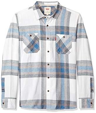 Levi's Men's Abbotts Long Sleeve Flannel Shirt