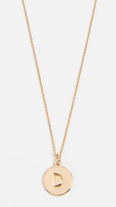 Kate Spade Letter Pendant Necklace