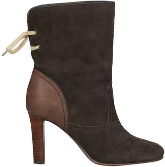 See by Chloe Tie Detail Ankle Boots