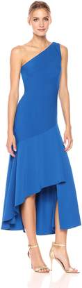 Carmen Marc Valvo Women's One Shoulder Dress