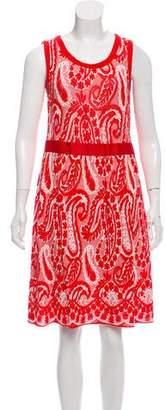 Giambattista Valli Sleeveless Paisley Dress