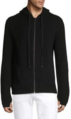 Zadig & Voltaire Clash Zip-Up Wool & Cashmere Hoodie