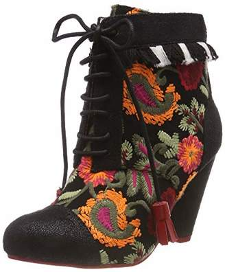 db77726a220e Irregular Choice Poetic Licence by Women s s Winters Tale Ankle Boots Black  ...