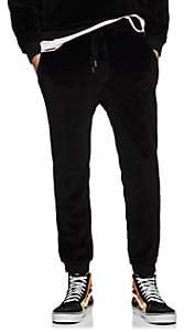 NSF Men's Velour Slim Jogger Pants - Black