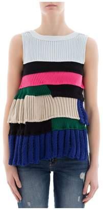 Sacai (サカイ) - Multicolor Cotton Sweatshirt