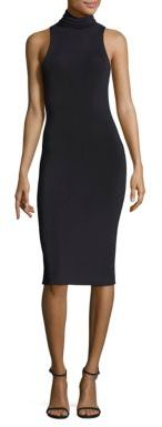 Polo Ralph Lauren Turtleneck Sweater Dress $398 thestylecure.com
