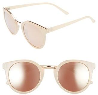 Women's Bp. 50Mm Round Sunglasses - Light Pink $12 thestylecure.com