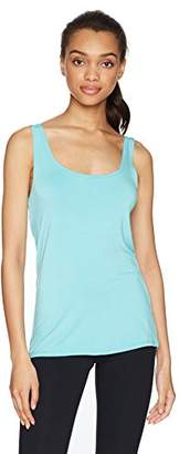 Trina Turk Recreation Women's Sleeveless Solid Open Back Tank Top