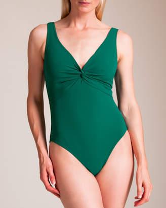 Karla Colletto Basic Twist Swimsuit