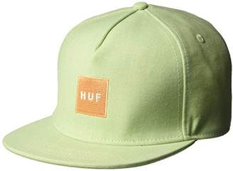 HUF Men's Denim Box Logo Snapback
