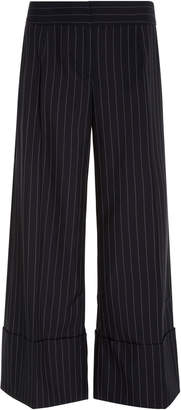 Monse Pinstripe Wide Leg Pant